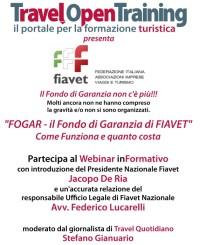 Webinar informativo - FOGAR il Fondo di Garanzia di FIAVET
