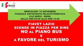 LOCANDINA MANIFESTAZIONE PIANO BUS 15 NOVEMBRE