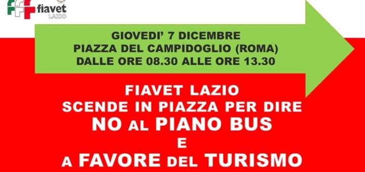 manifestazione piano bus 7 dicembre