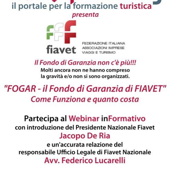 Webinar informativo – FOGAR il Fondo di Garanzia di FIAVET