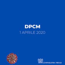dpcm 1 aprile